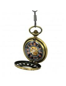JIJIA JX003 Hot Wheels Hollow Case Mechanical Pocket Watch