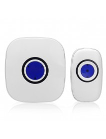 38 Tunes Wireless LED Doorbell with Remote Control