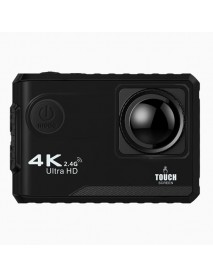 F100B NTK96660 16MP 4K 24FPS 170 Degree Wide Angle 2.0 Inch Touch Screen Wifi Action Camera