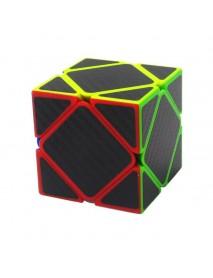 5Pcs Per Box Carbon Fibre Magic Cube Pyraminx Dodecahedron Axis Cube 2x2 And 3x3 Cube Speed Puzzle