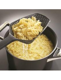 Honana KT-SP2 Large Nylon Strainer Scoop Colander Drain Vegies Water Scoop Kitchen Accessories