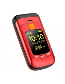 GZONE F899 2.4 inch Handwriting Touch Screen 3800mAh FM Vibration Loud Volume Flip Feature Phone