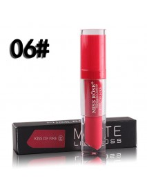 24 Colors Lip Gloss Matte Not Easy To Stick Cup Waterproof