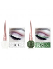 Glitter Eyeliner Liquid Makeup Eyes Liner Waterproof Gold Green Shinning Diamond Halloween
