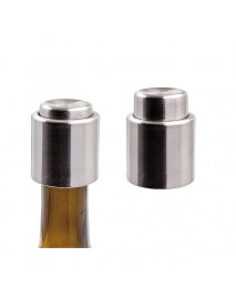 Stainless Steel Vacuum Sealed Wine Bottle Stopper Preserver Pump Sealer Bar Stopper Keep Your Best W