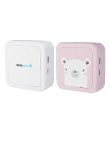 MEMOBIRD GT1 Pocket Thermal Printer Bluetooth 4.2 Wireless Phone Photo Printer With 9 Rolls Paper