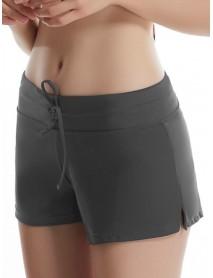 Plus Size Swim Trunks Sports Yoga Shorts Beach  Swimwear Anti Emptied  Pants