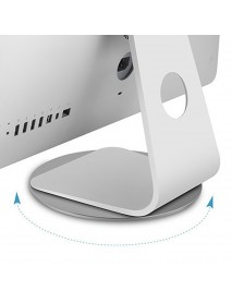 AP-5M Aluminum Alloy Computer Laptop Stand Computer Monitor Base Universal 360-degree Rotatable Chassis Bracket