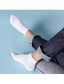 365WEAR 5 Pair / Set Breathable Men Socks From Xiaomi Youpin Antibacterial Sock 24-26cm Men's Breathable Short Socks Set