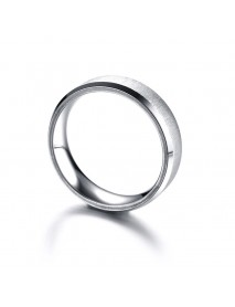 Fashion Stainless Steel Finger Ring Rose Gold Silver Rings Trendy Jewelry for Women