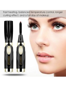 Electric Heated Eyelash Curler  Heating Long Lasting Curled Eyelashes Painless Curved Beauty Make Up Tool