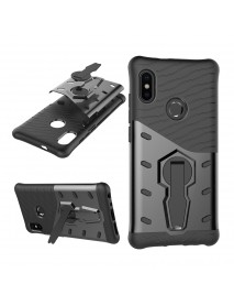 Bakeey Hybrid Shockproof TPU+PC Armor Stand Holder Protective Case For Xiaomi Mi A2 / Xiaomi Mi 6X