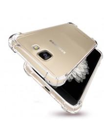 Air Bag Transparent Soft TPU Case for Samsung Galaxy A3 A5 A7 2017