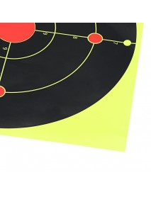 10 Sheets Professional Shooting Target Paper Archery Targets Arrow Gauge Paper