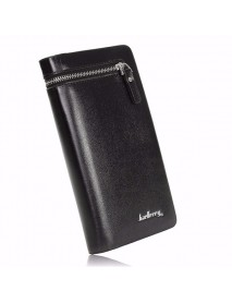 Baellerry Men Multi-function PU Leather Wallet Case Phone Bag Bifold Card Holder Handbag