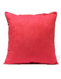 50x50cm MultiColor Suede Sofa Car Office Cushion Cover Backrest Pillow Case