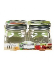 Ball Collection Elite, 4 Pack, , Platinum, Wide Mouth, Jars (4x4 CT)