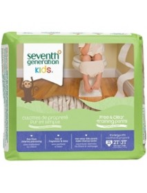 Seventh Generation Baby Free And Clear Training Pants 2T-3T 25 Training Pants (4x25 CT)
