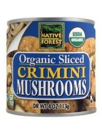 Native Forest Organic Sliced Crimini Mushroomss (12x7Oz)