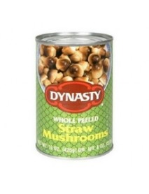 Dynasty Whole Peeled Straw Mushroom (12x15Oz)