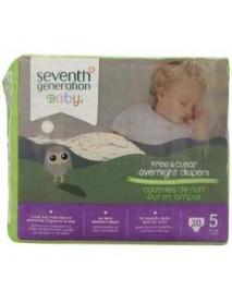 Seventh Generation 7 Gen Diapers Overnite S5 2000 ct (4x20 CT)