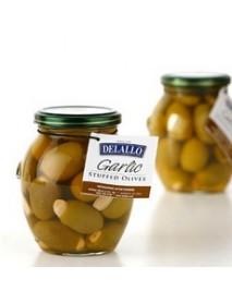 De Lallo Garlic Stuffed Olives (6x7Oz)