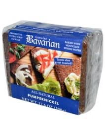 Bavarian Breads Organic Pumpernickel Bread (6x17.6Oz)