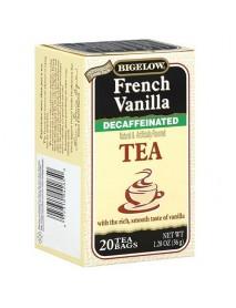 Bigelow Decaffeinated French Vanilla Tea (6x20 Bag )