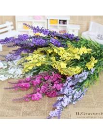5 Colors 38cm Artificial Lavender Simulation Lavender Silk Flower Home Wedding Decor