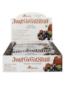 Betty Lou's Just Great Stuff Cacao Acai bar (12x1.5 Oz)