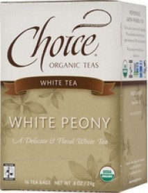 Choice Organic Teas White Peony (6x16 Bag)