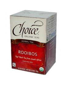 Choice Organic Teas Rooibos Tea (6x16 Bag)