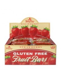 Betty Lou's Strawberry Fruit Bars (12x2 Oz)